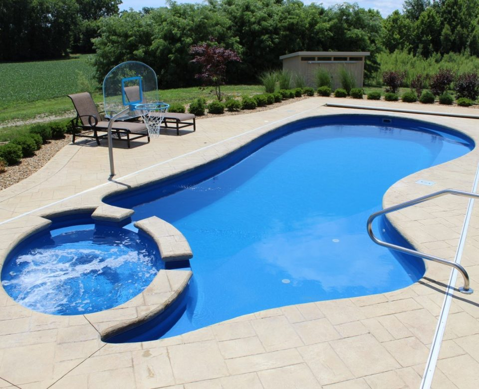 The Brilliant Fiberglass Swimming Pool | Imagine Pools